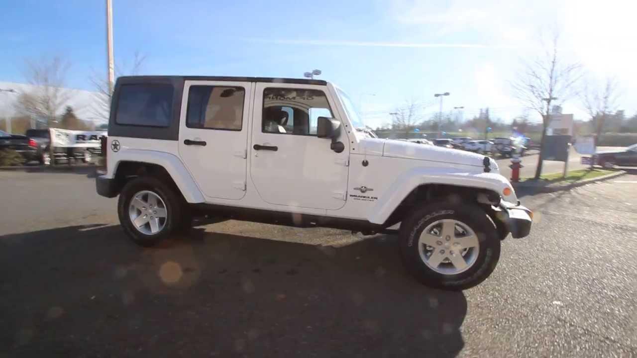 2014 Jeep Wrangler Unlimited Sport Oscar Mike El164598