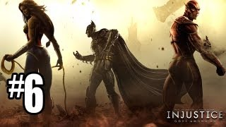 Injustice Gods Among Us Gameplay Walkthrough Part 6 - Chapter 6: CYBORG (Injustice Gameplay HD)