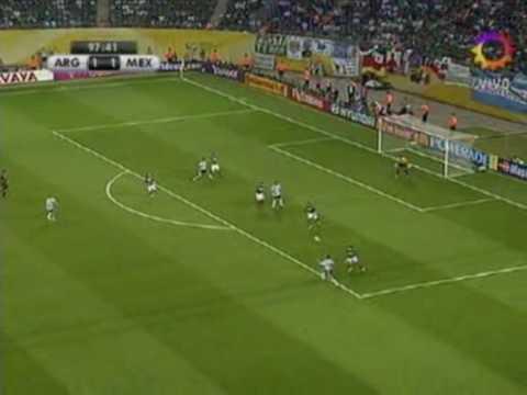 Maxi Rodriguez golazo contra Mexico