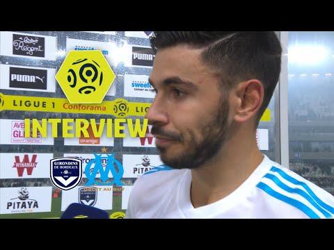 Interview de fin de match : Girondins de Bordeaux - Olympique de Marseille (1-1) / 2017-18