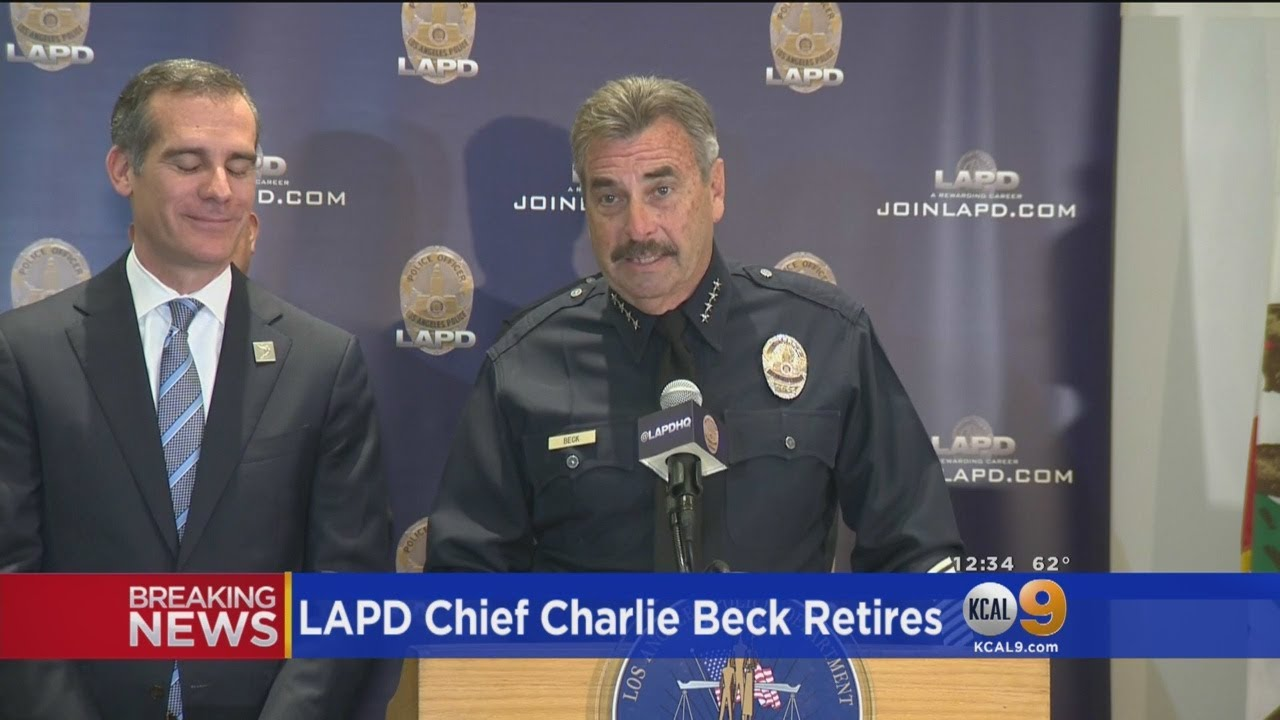Download LAPD Chief Charlie Beck Announces Retirement After 40 Years With Department