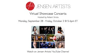 Jensen Artists Virtual Showcase: Lisa Bielawa, composer-producer-vocalist & Philip Glass Ensemble