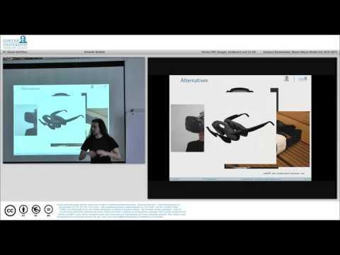 Einsatzmöglichkeiten der Virtual Reality Technik (Teil 2) - MultimediaWerkstatt -29.07.2015