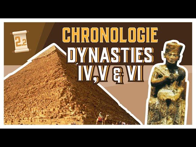 Chrono #2.2 - ANCIEN EMPIRE - Dynasties IV-V-VI