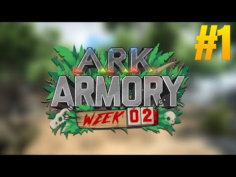 ARK ARMORY WEEK 2 STARTS! - CAPTURE THE POINT! - Ark Survival Evolved Armory #1 [Week 2]