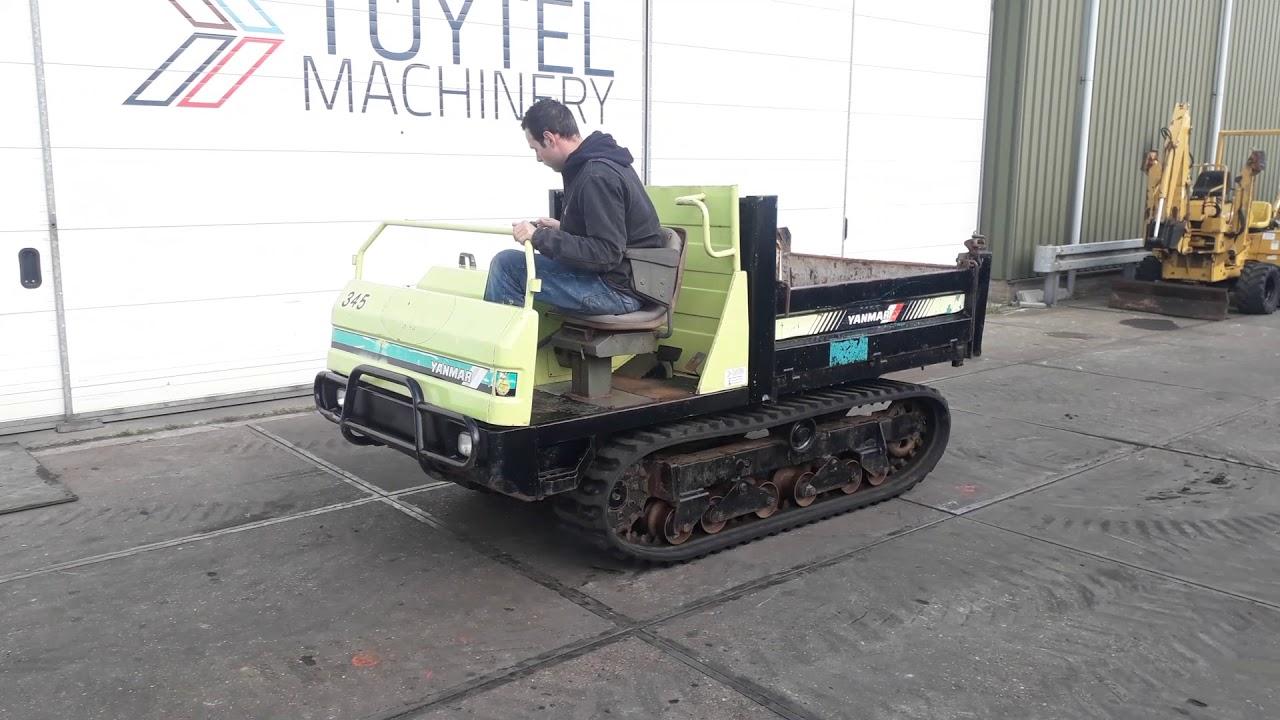 Yanmar c30r, 2400 uur, tracked dumper, rupsdumper te koop ...