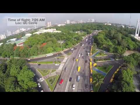 UNTV DRONE: Back-to-school traffic watch: Quezon City Circle