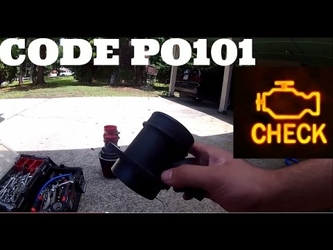 HOW TO FIX YOUR MASS AIR FLOW SENSOR,  CODE P0101  VW jetta golf 1.8T 2.0 VR6 AUDI a4 a6