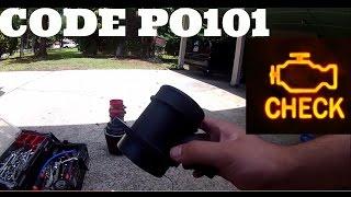 HOW TO FIX YOUR MASS AIR FLOW SENSOR,  CODE P0101  VW jetta golf 1.8T 2.0 VR6 AUDI a4 a6