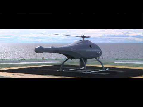 Skeldar V-200 Maritime - Medium range UAV-system