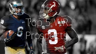 Top 5 WR Prospects in 2018 NFL Draft ||Receiver Highlight Mix||