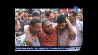برنامج العاشرة مساء|شهود عيان ..  يرون تفاصيل اعتداءات الشرطة على أهل أشمون وسقوط قتيل