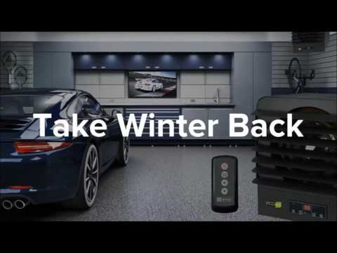 Garage Heater - KB ECO2S - King Electric