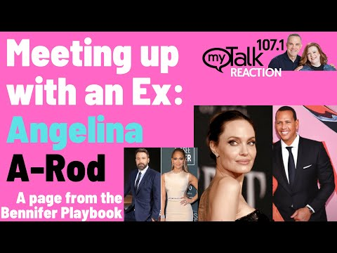 Meeting Up With An Ex - Angelina and A-Rod Take A Page from the Bennifer playbook!