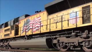 Pre & Post Fall Equinox Railfanning Compilation (September 2015) ft. foamer campfire!