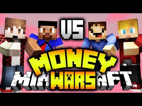 VIKK & MITCH vs ROB & LACHLAN! - (Minecraft MONEY WARS #14)