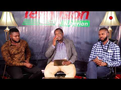 Real Campaign On Television Nigerian Topic: President Declaration: Reactions & Effect.