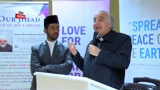 Ahmadiyya Hosts Festive Lunch for the Elderly