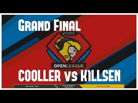 Grand Final COOLLER vs K1LLSEN -  Quake Open League (Season 6 EU Elite)
