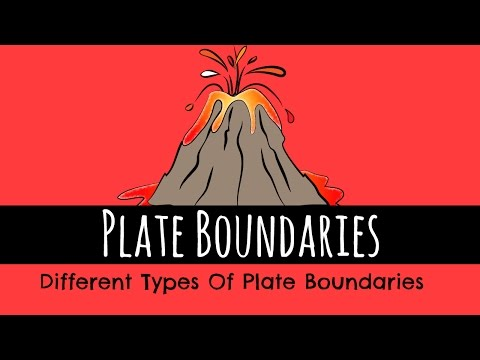 Plate Boundaries - The Different Types of Plate Boundaries - GCSE Geography