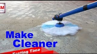 Life HACKS - How to make floor cleaner machine