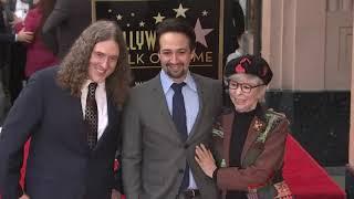Lin-Manuel Miranda gets star on Hollywood Walk of Fame