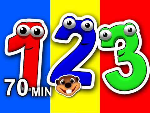 Numbers 123 Songs Collection Vol 1  3D Compilation, Teach Toddlers How to Count, Learn 123s