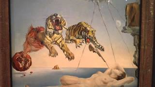 Dream caused by the Flight of a Bee 1944 Salvador Dali 1904-1989 Thyssen-Bornemisza Museum