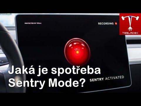 #107 Jaká je spotřeba Tesla Sentry Mode? | Teslacek