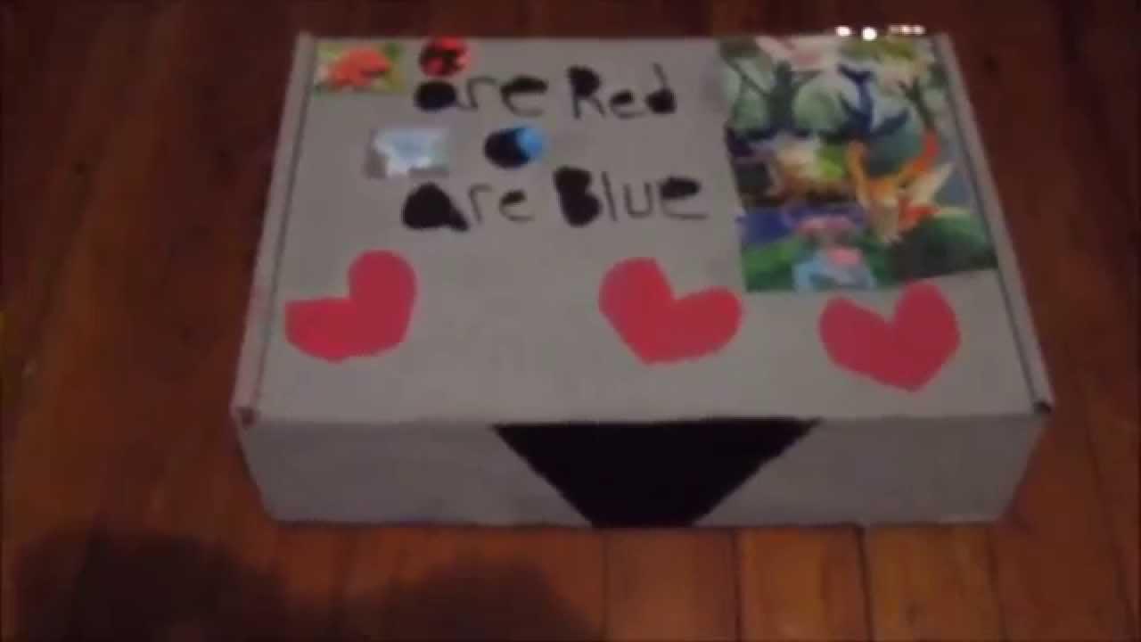 DIY ADORABLE POKEMON VALENTINE GIFT BOX!!!!VALENTINE GIFT IDEA   YouTube