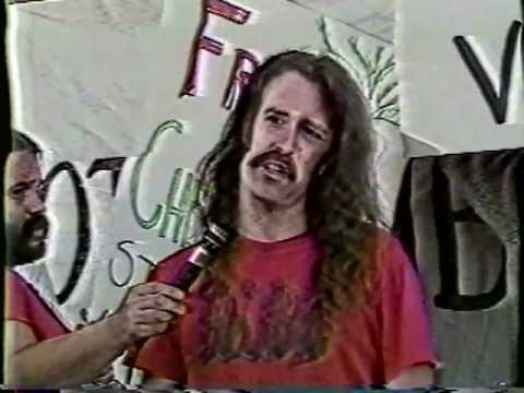 1990 news clips with Andy Caffrey on carbombing of Judi Bari & Darryl Cherney