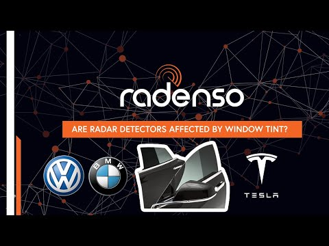 Are radar detectors affected by tint? BMW M3, VW, and Tesla glass tested!