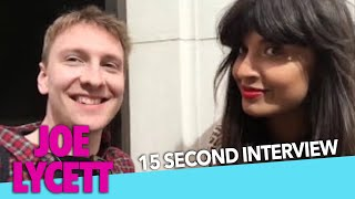 The 15 Second Interview with JAMEELA JAMIL