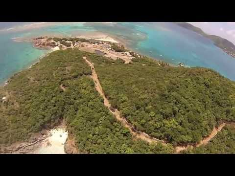 Helicopter ride - Virgin Gorda, BVI