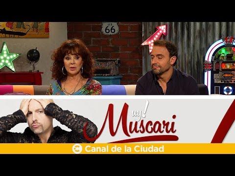 """""""Yo no me creo nada de la tele"""", Patricia Palmer y Adrián Pallares en Muy Muscari"""