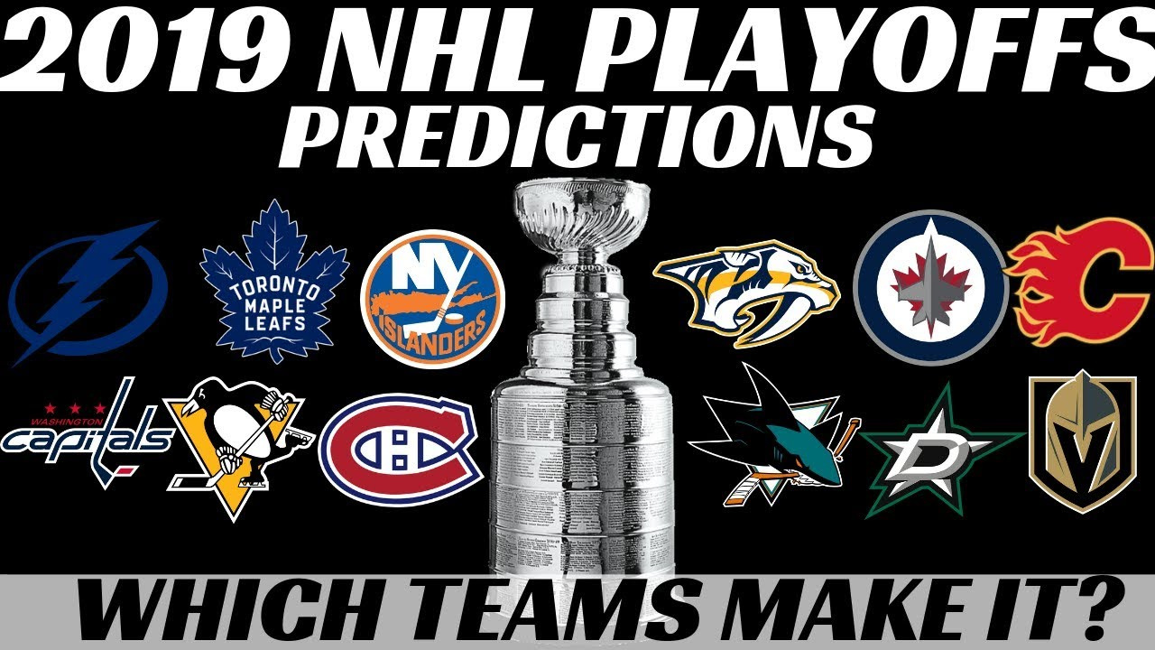 6dac9a141 2019 NHL Playoffs Predictions - Which Teams make it  - YouTube