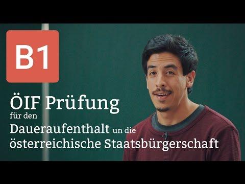 öif B1 Prüfung Deutsch Für Den Daueraufenthalt Und Die