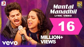 OK Kanmani - Mental Manadhil Lyric | Dulquer| A. R. Rahman | Super Hit Song