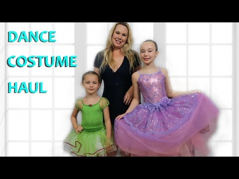 Competition Dance Costume Haul Funtastic Family