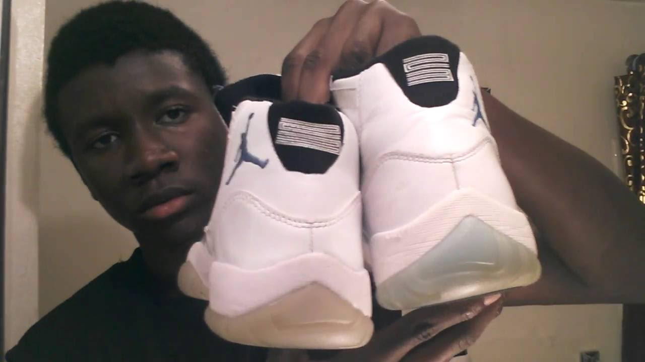 ccdfde37b796 Real Vs Fake Jordan 11 (Legend Blue) Subscribe for More !! )) - YouTube