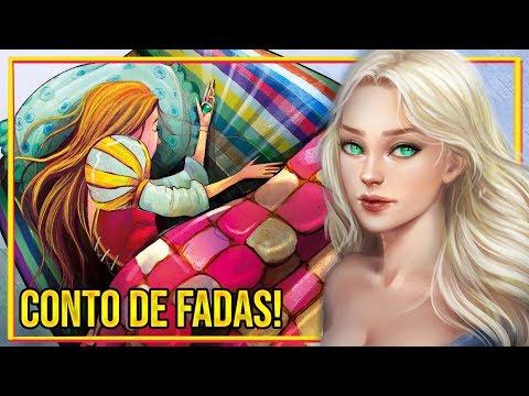 A HISTÓRIA DA PRINCESA E A ERVILHA!!