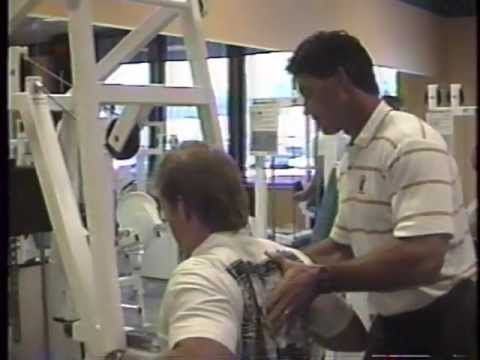 John Philbin at Conditioning Unlimited back in 92