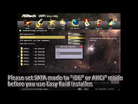 ASRock Feature - Easy RAID Installer