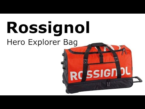 Rossignol Hero Explorer Ski Equipment Rolling Bag   AvidMax