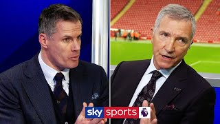 Jamie Carragher & Graeme Souness disagree over offside rule change!