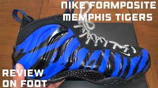 Nike Foamposite One Memphis Tigers aka