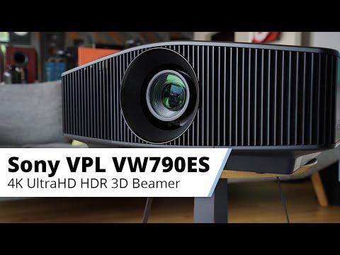 Vorstellung Sony VPL-VW790ES - Nativer 4K Laser Heimkinobeamer der Referenzklasse