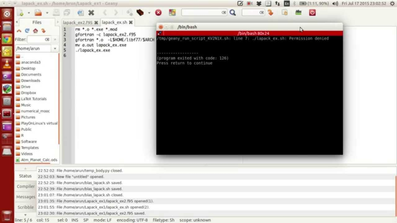 Download Fortran 95 For Linux