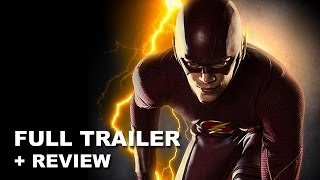 The Flash Trailer 2014 + Trailer Review! Arrow spin-off on The CW from Warner Bros and DC Comics!