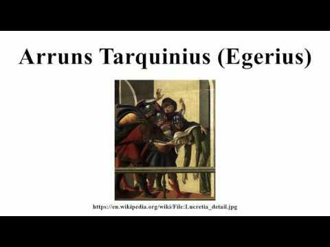 Arruns Tarquinius (Egerius)